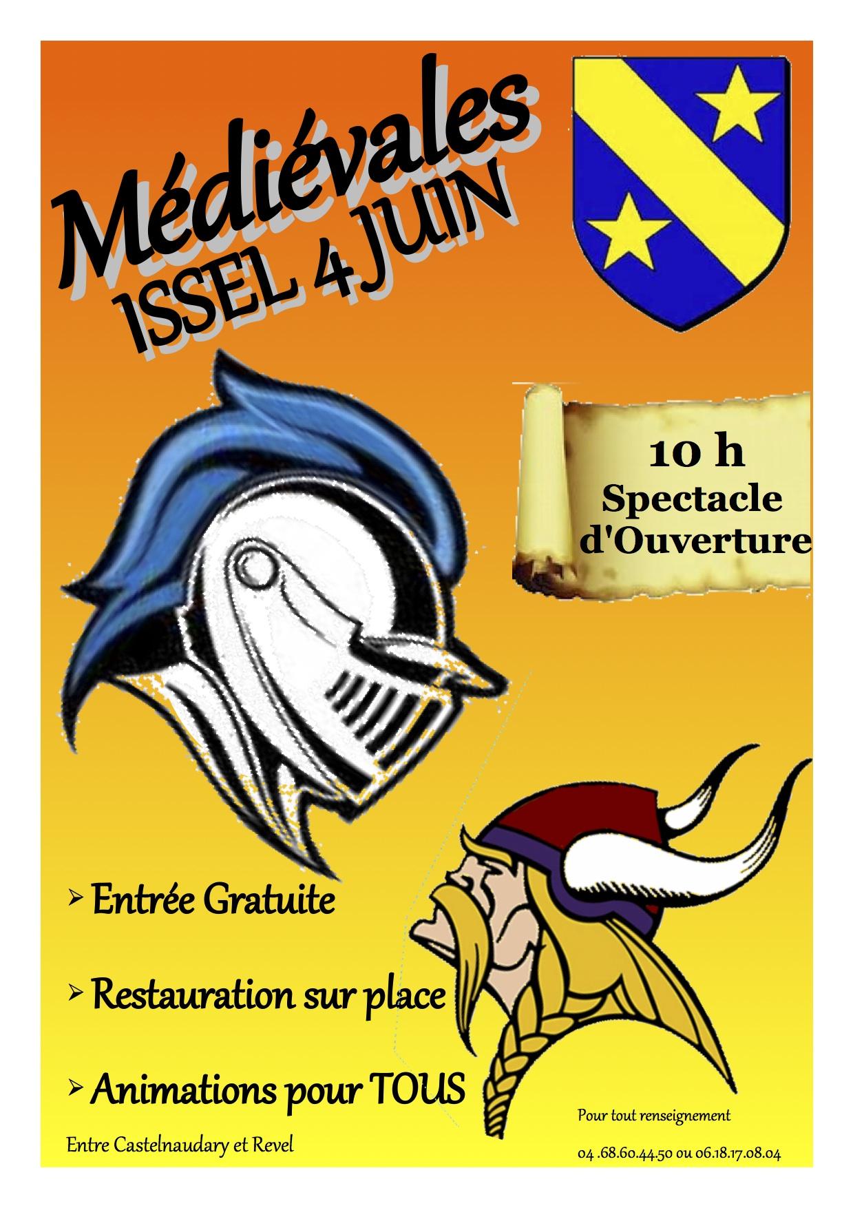 Affiche medievales 2017