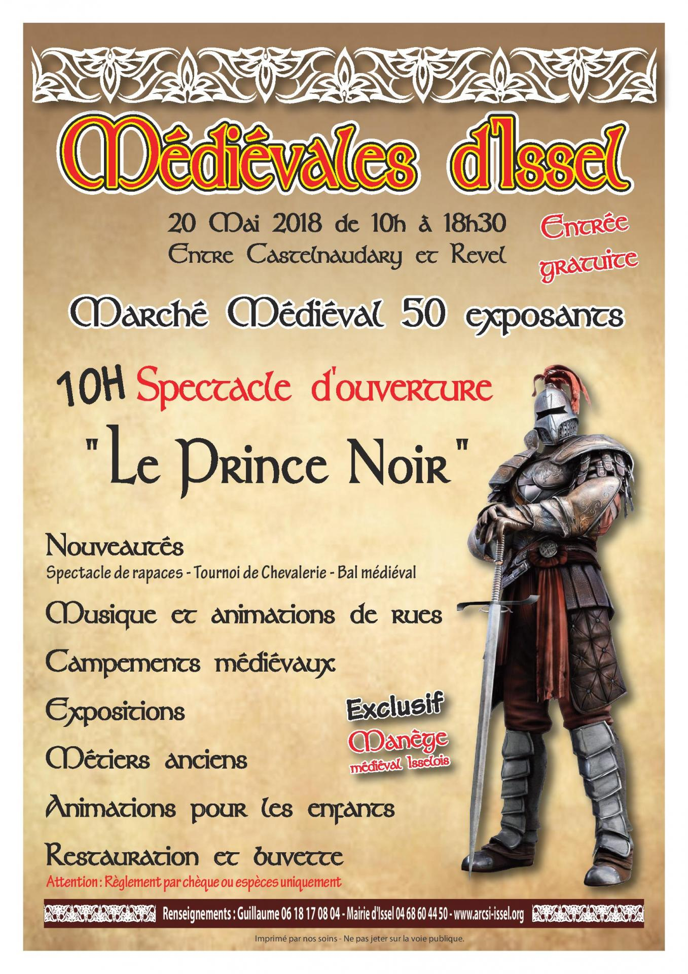 Medievales issel affiche 2018 page 001